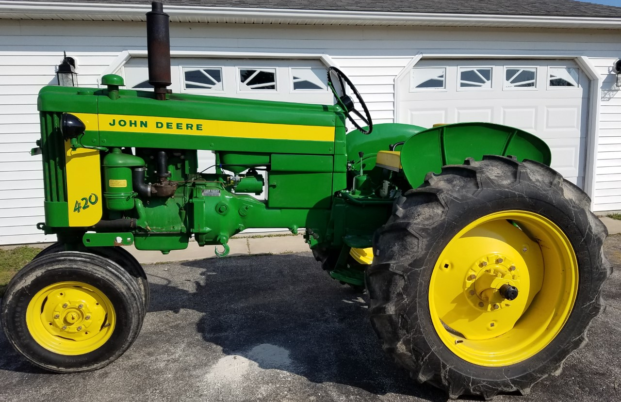 thumbnail_Horney JD 420 Tractor