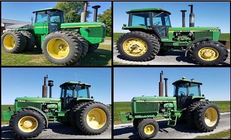 Timed Online Retirement Farm Auction